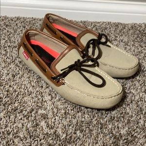 Men's Levi's boat shoes, loafers